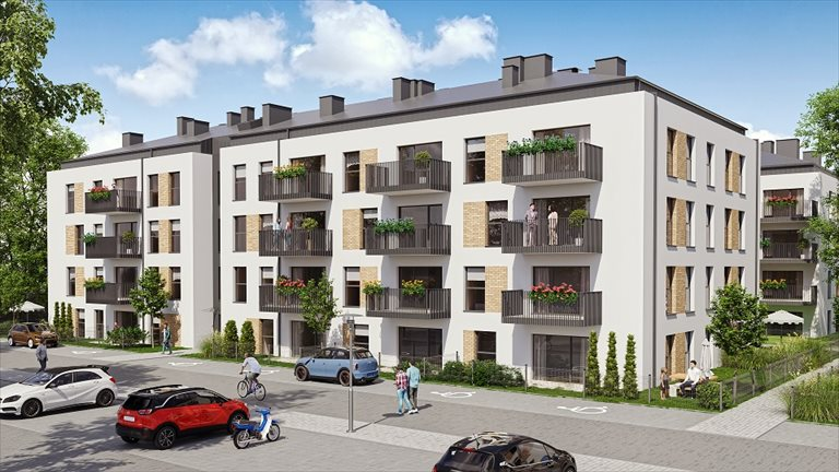Nowe mieszkanie dwupokojowe Kleszczewo Park Kleszczewo  52m2 Foto 5