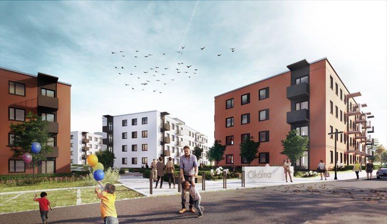 Nowe mieszkanie dwupokojowe Mieszkanie Plus (filar rynkowy) Toruń  Toruń, Podgórz, ul. Okólna  50m2 Foto 1