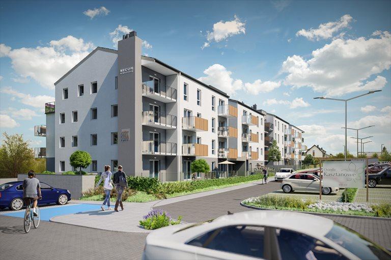 Nowe mieszkanie trzypokojowe Osiedle Kasztanowe Borkowo, Kasztanowa 75A,B,C  67m2 Foto 1