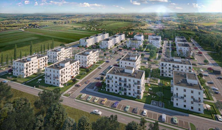 Nowe mieszkanie trzypokojowe Zielone Zamienie IV Zamienie, Waniliowa/Czekoladowa  58m2 Foto 4