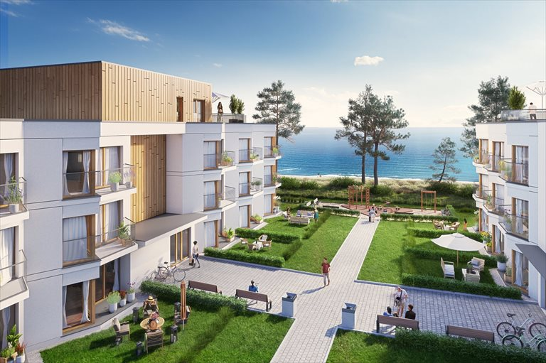 Nowe mieszkanie trzypokojowe Let's Sea Baltic Park Gąski, Nadbrzeżna  60m2 Foto 1