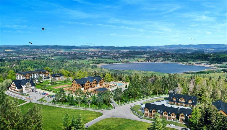 Nowe mieszkanie dwupokojowe Seidorf Mountain Resort*****   Apartamenty Kazalnica - ostatni IV etap sprzedaży Sosnówka, Liczyrzepy 80B  46m2 Foto 1