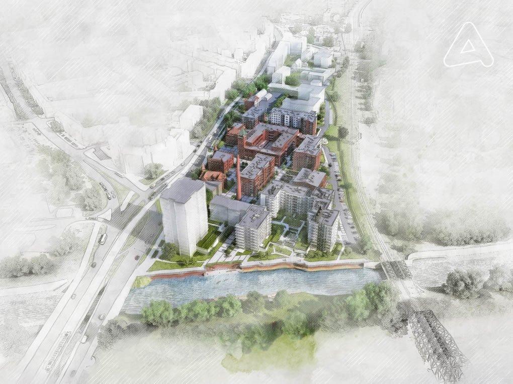 Nowe mieszkanie trzypokojowe Browary Wrocławskie  Mieszkania 1-5 pokojowe od 33 do 117 m2 Wrocław, Śródmieście, Jedności Narodowej  51m2 Foto 10