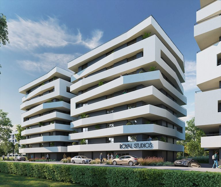Nowe mieszkanie trzypokojowe Royal Smart Studios Etap II Gliwice, Politechnika, Pszczyńska 51  40m2 Foto 1