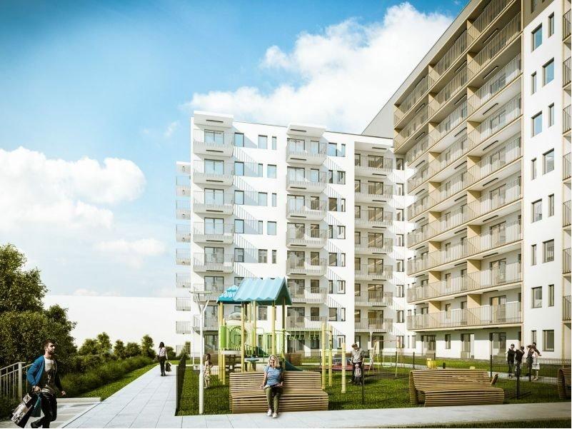 Nowe mieszkanie trzypokojowe SŁONECZNE OGRODY ETAP II Lublin, Bronowice, ul. Wrońska  63m2 Foto 2