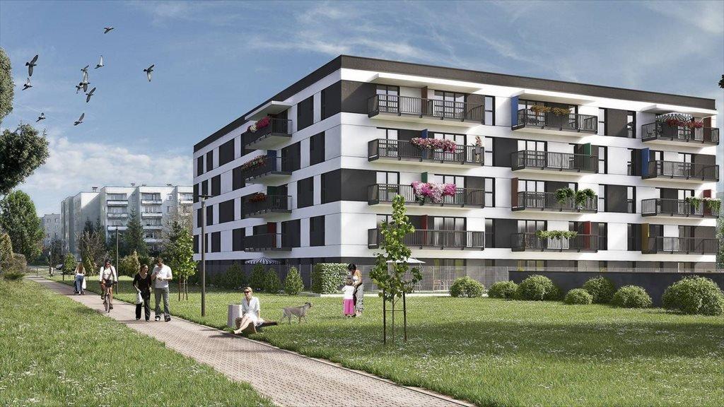 Nowe mieszkanie trzypokojowe Helińskiego Park Łódź, Bałuty, Helińskiego 10  68m2 Foto 1