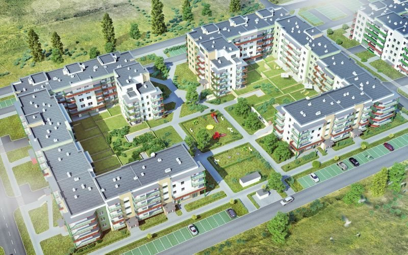 Nowe mieszkanie dwupokojowe SŁONECZNY DOM ETAP G-IV Lublin, Wrotków, ul. Rodakiewicza 5  47m2 Foto 5