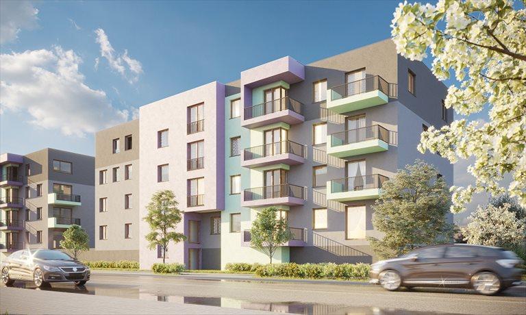 Nowe mieszkanie dwupokojowe Osiedle Hiacynt Wrocław, Krzyki/Brochów, Birmańska 11-12  37m2 Foto 1