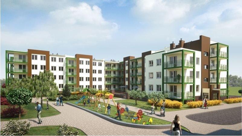 Nowe mieszkanie trzypokojowe OSIEDLE POLESIE V Świdnik, ul. Klonowa 69  68m2 Foto 5
