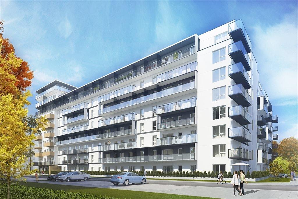 Mieszkanie trzypokojowe na sprzedaż METROBIELANY Budynek D, Etap 4 Warszawa, Bielany, ul. Lekka 1  76m2 Foto 1