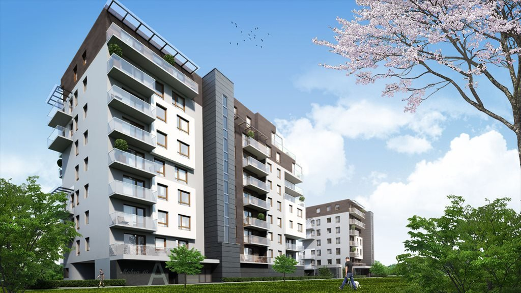 Nowe mieszkanie czteropokojowe  Mokra 10 Łódź, Mokra 10  96m2 Foto 1