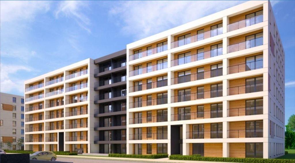 Nowe mieszkanie trzypokojowe DĄBSKA ETAP III Kraków, Grzegórzki, ul. Dąbska  52m2 Foto 5