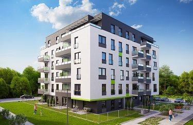 Nowe mieszkanie czteropokojowe  Osiedle Franciszkańskie V Katowice, Ligota-Panewniki, Kijowska 44  78m2 Foto 2