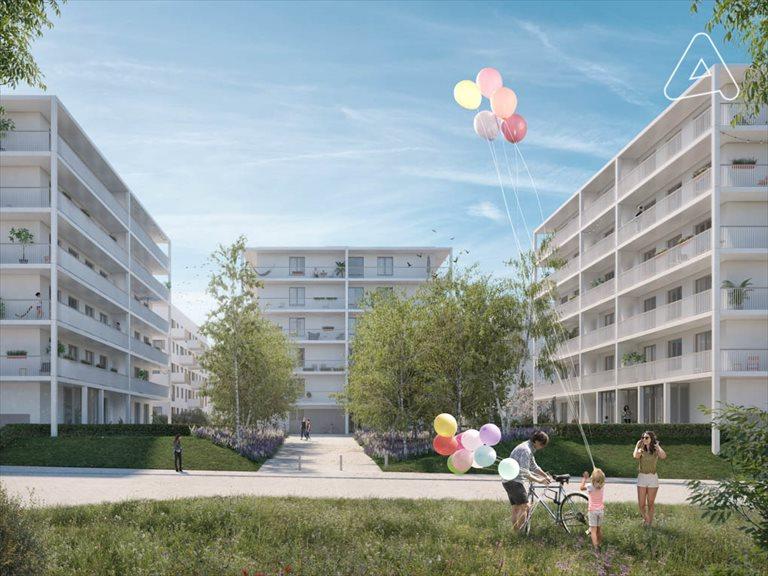 Nowe mieszkanie dwupokojowe Czwarty Wymiar Wrocław, ul. Heinricha Lauterbacha  52m2 Foto 1