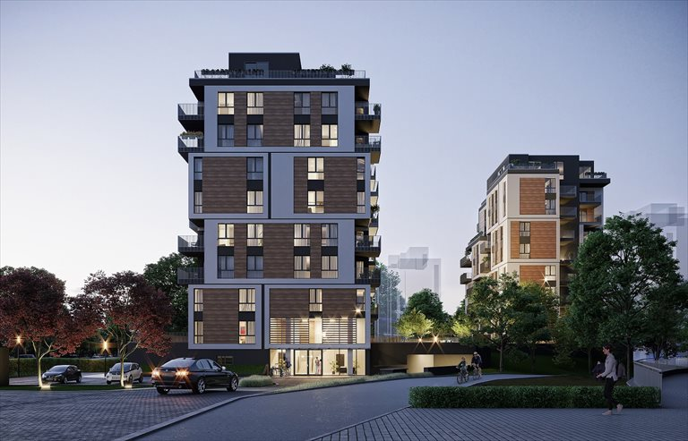 Nowe mieszkanie trzypokojowe INSPIRE Katowice, Dolina Trzech Stawów, Gen. W. Sikorskiego 41  68m2 Foto 7