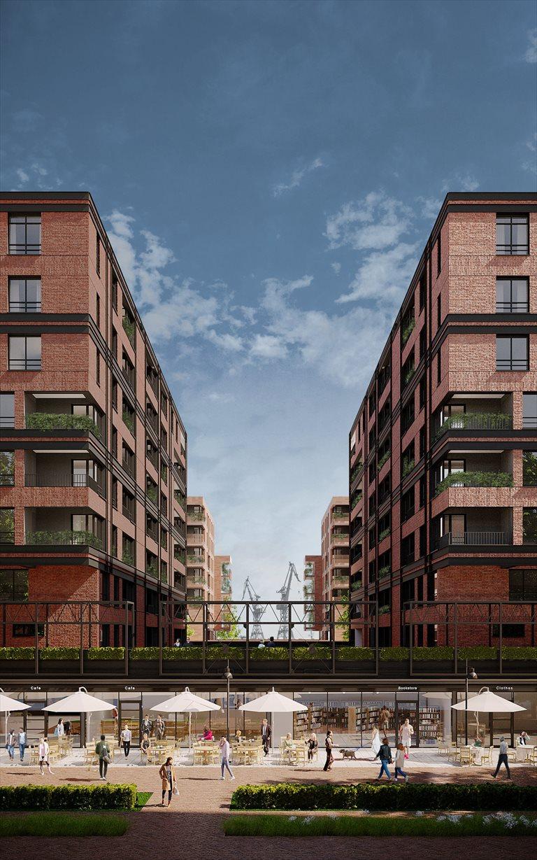Nowe mieszkanie czteropokojowe  DOKI LIVING Gdańsk, Śródmieście, ks. Jerzego Popiełuszki/Rybaki Górne  82m2 Foto 3