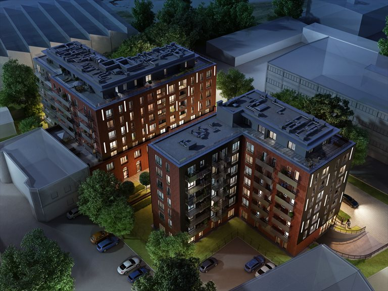 Nowe mieszkanie trzypokojowe Halo Wrocław, Stare Miasto, Tęczowa 29A-31A  67m2 Foto 4