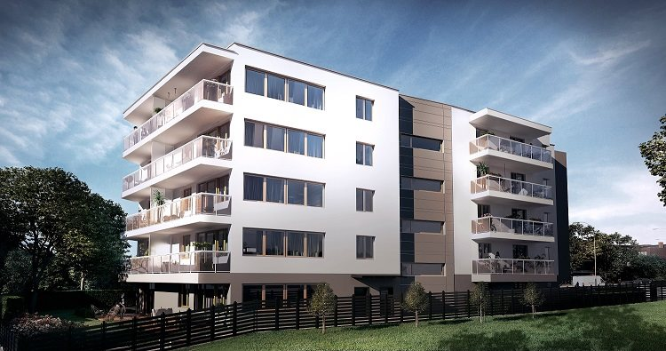 Nowe mieszkanie trzypokojowe Villa Antoniuk   Białystok, Dziesięciny II, Antoniuk Fabryczny 40/48  50m2 Foto 1