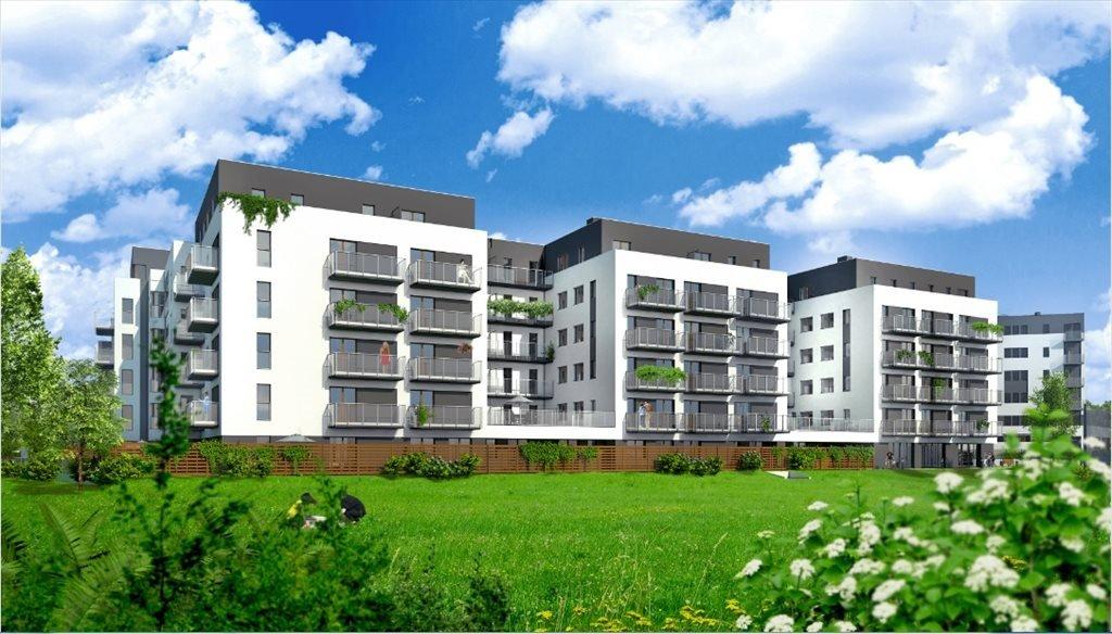 Mieszkanie dwupokojowe na sprzedaż Nowe Ogrody Etap IV Poznań, Wola, ul. Meissnera 2  48m2 Foto 1