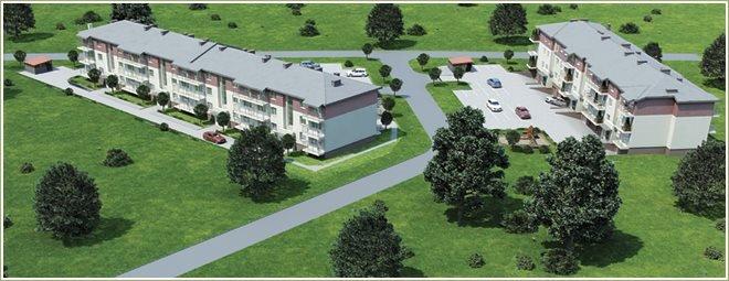Nowe mieszkanie dwupokojowe Zielone Osiedle 2 Toruń, Stawki, Szuwarów 1  34m2 Foto 1