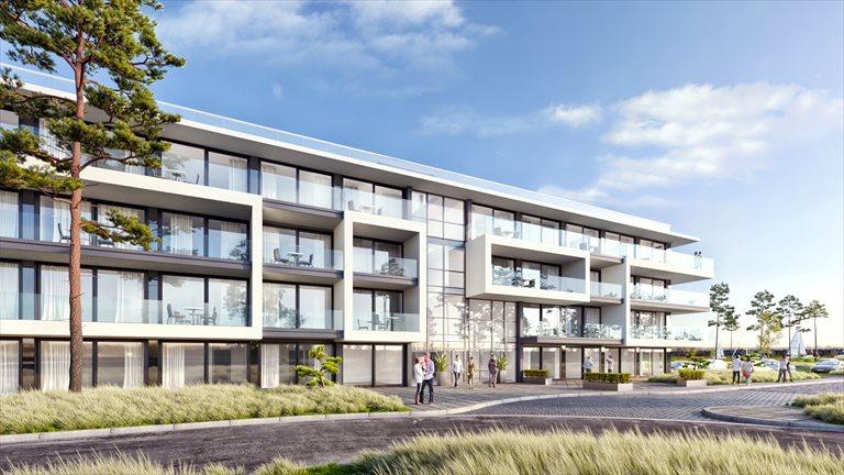 Nowe mieszkanie dwupokojowe Sea & Lake Luxury Apartments Resort Mielno, Unieście, Sosnowy las  34m2 Foto 9