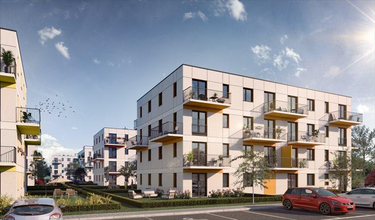 Nowe mieszkanie trzypokojowe Zielone Zamienie IV Zamienie, Waniliowa/Czekoladowa  58m2 Foto 1