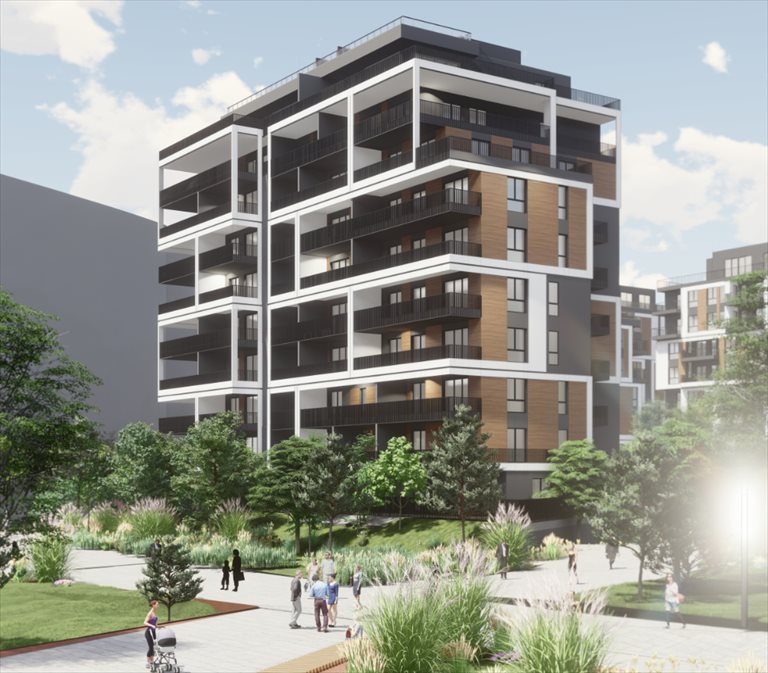 Nowe mieszkanie dwupokojowe INSPIRE Katowice, Dolina Trzech Stawów, Gen. W. Sikorskiego 41  52m2 Foto 6