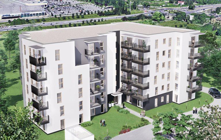 Nowe mieszkanie dwupokojowe Aleja Pokoju ul. Na łąkach Budynek 9 Kraków, ul. Na Łąkach  46m2 Foto 1