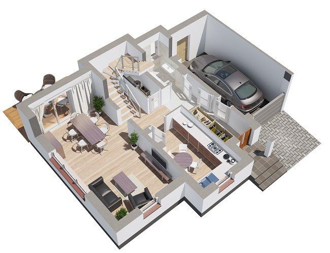 Nowy dom Osiedle przy Marinie Baranowo, ul. Wypoczynkowa  135m2 Foto 9