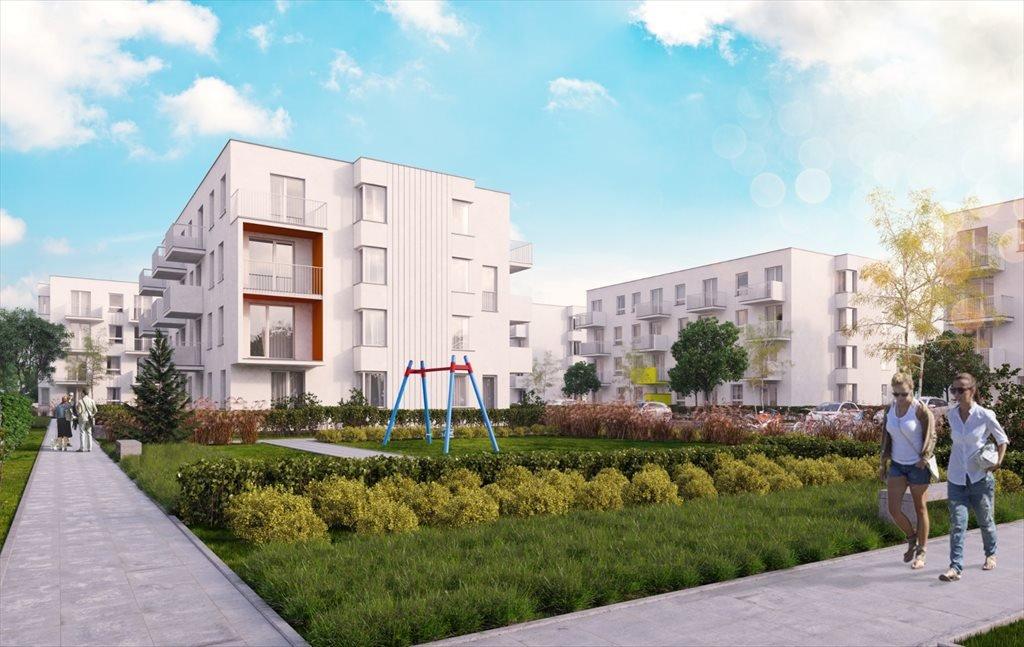 Nowe mieszkanie dwupokojowe Zielone Zamienie 2 Zamienie, Waniliowa  49m2 Foto 1