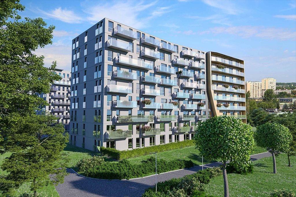 Mieszkanie dwupokojowe na sprzedaż Murapol Apartamenty Trzy Stawy Katowice, Osiedle Paderewskiego  39m2 Foto 1