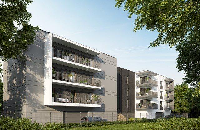 Nowe mieszkanie dwupokojowe MELIA APARTAMENTY II Łódź, Chojny, Grażyny 16  45m2 Foto 2