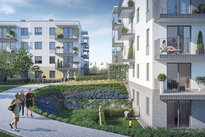 Nowe mieszkanie trzypokojowe Zielony Południk Gdańsk, Południe, Władysława Jagiełły  53m2 Foto 1