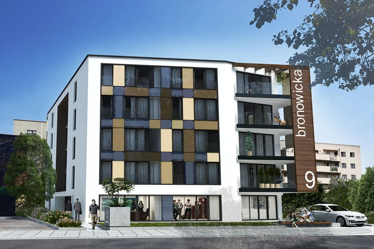 Nowe mieszkanie dwupokojowe BronoVia Kraków, Bronowicka 9  47m2 Foto 1