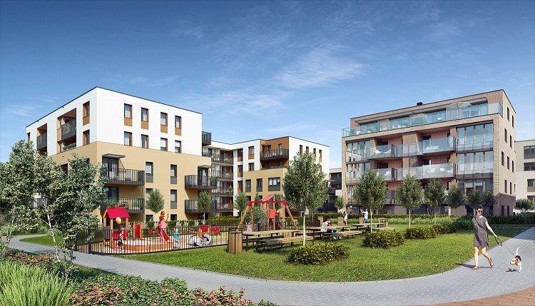 Nowe mieszkanie trzypokojowe Fredry 6 Kraków, Krakowskie Łagiewniki, Fredry 6  53m2 Foto 3