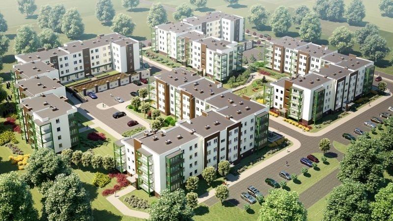 Nowe mieszkanie trzypokojowe OSIEDLE POLESIE V Świdnik, ul. Klonowa 69  68m2 Foto 2