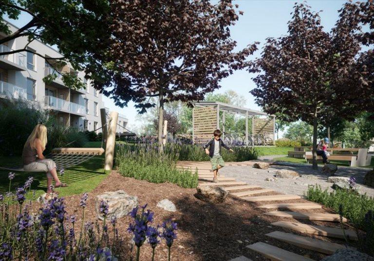 Nowe mieszkanie dwupokojowe Leszczynowy Park Gdańsk, Jasień, Leszczynowa  46m2 Foto 11
