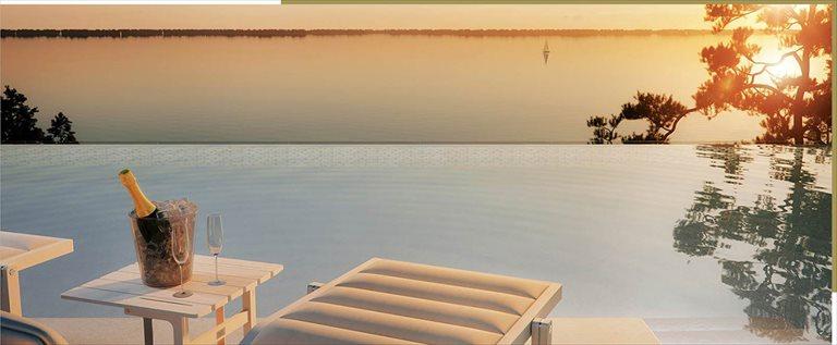 Nowe mieszkanie dwupokojowe Sea & Lake Luxury Apartments Resort Mielno, Unieście, Sosnowy las  34m2 Foto 11