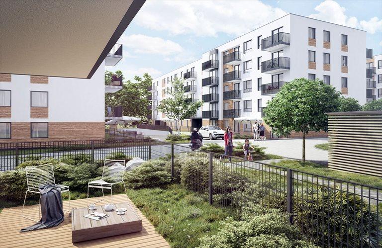 Nowe mieszkanie dwupokojowe STABŁOWICKA II ETAP Wrocław, FABRYCZNA - STABŁOWICE  35m2 Foto 2