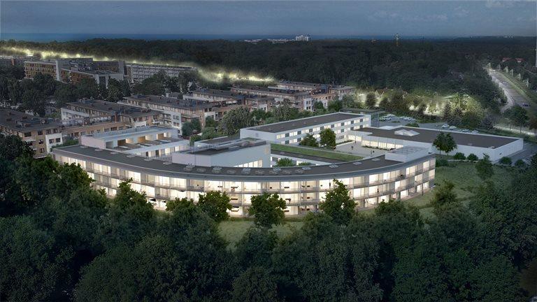 Condo Apartament jednopokojowy Solny Resort**** Kołobrzeg, Wschodnia, Fredry 5  29m2 Foto 1