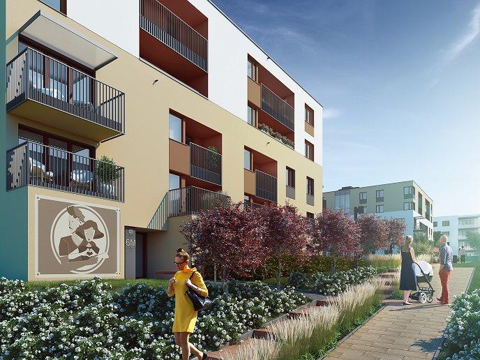 Nowe mieszkanie trzypokojowe Fredry 6 Kraków, Krakowskie Łagiewniki, Fredry 6  53m2 Foto 5