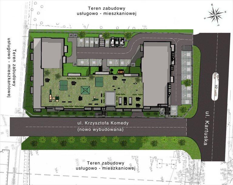 Nowe mieszkanie dwupokojowe Gdańskie Tarasy Gdańsk, Jasień, ul. Kartuska 422  94m2 Foto 5