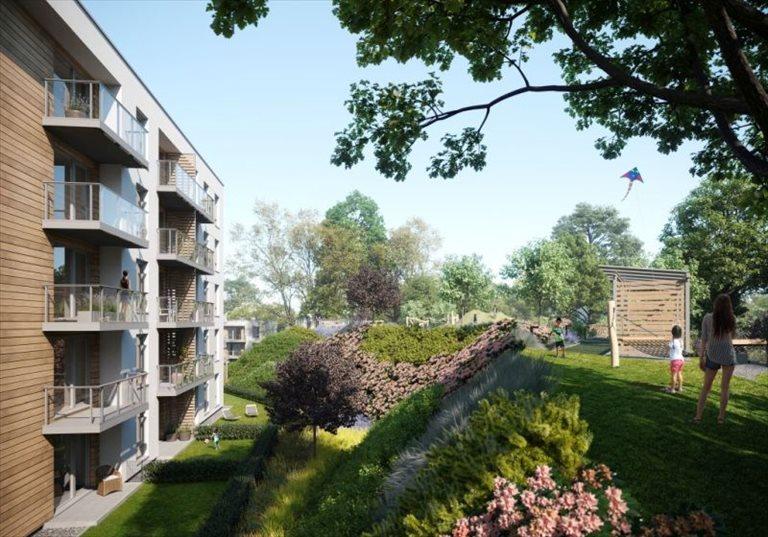 Nowe mieszkanie dwupokojowe Leszczynowy Park Gdańsk, Jasień, Leszczynowa  46m2 Foto 4