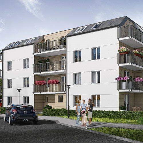 Nowe mieszkanie czteropokojowe  Osiedle Brwinów etap III Brwinów, Grodziska 40  76m2 Foto 1