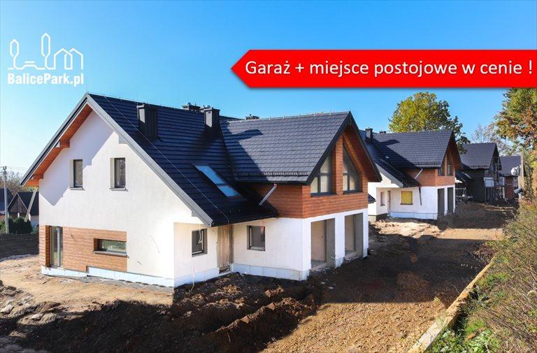 Osiedle 10 domów w zabudowie bliźniaczej I garaż + miejsce postojowe w cenie I 140,8 m2 Kraków, Balice, Urocza  Foto 1
