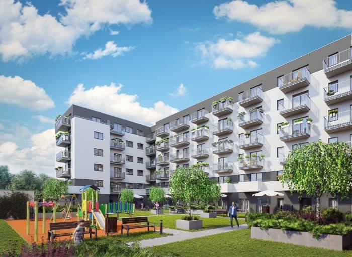 Nowe mieszkanie trzypokojowe Nowe Ogrody Poznań, Jeżyce, Wola, Meissnera 2  60m2 Foto 2