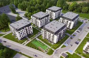 Nowe mieszkanie dwupokojowe Osiedle Franciszkańskie Południe Katowice, Ligota-Panewniki, Franciszkańskie, Kijowska 44  49m2 Foto 5