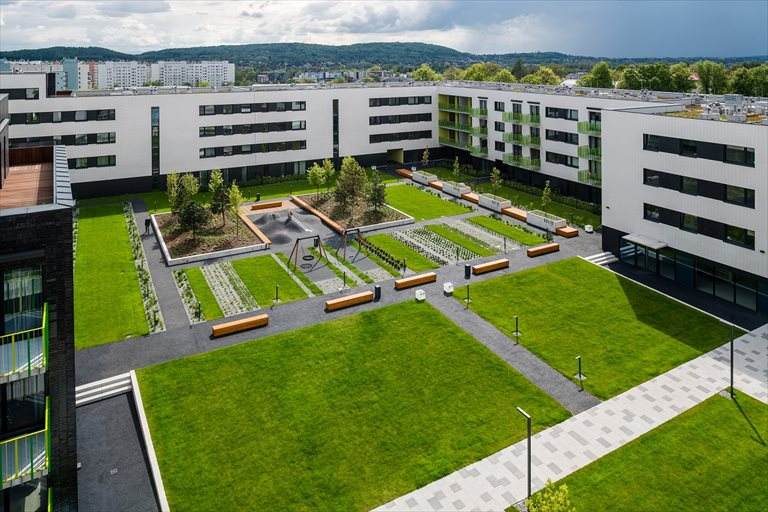Nowe mieszkanie dwupokojowe Mieszkaj w Mieście etap Wizjonerów (D+E) Bronowice, Wizjonerów  46m2 Foto 1