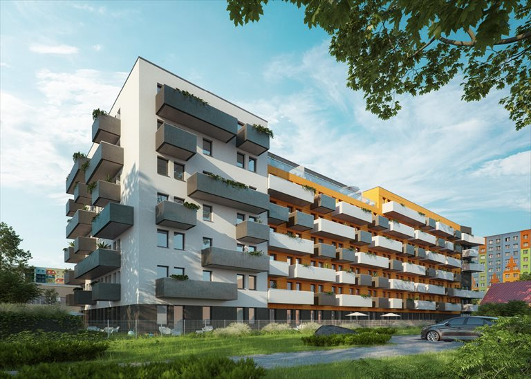 Nowe mieszkanie dwupokojowe Microklimat Wrocław, Brzoskwiniowa  51m2 Foto 1