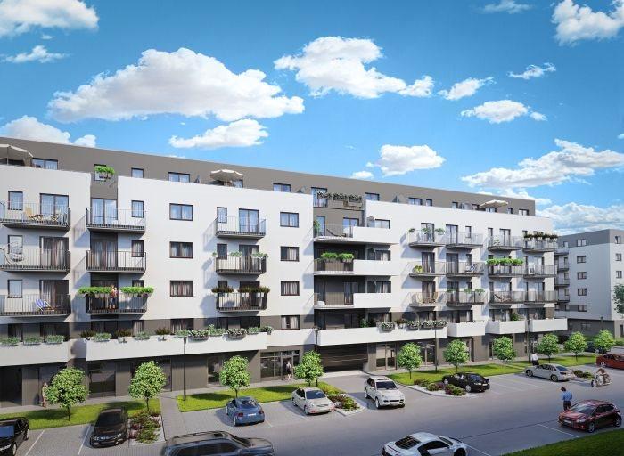 Nowe mieszkanie trzypokojowe Nowe Ogrody Poznań, Jeżyce, Wola, Meissnera 2  60m2 Foto 4